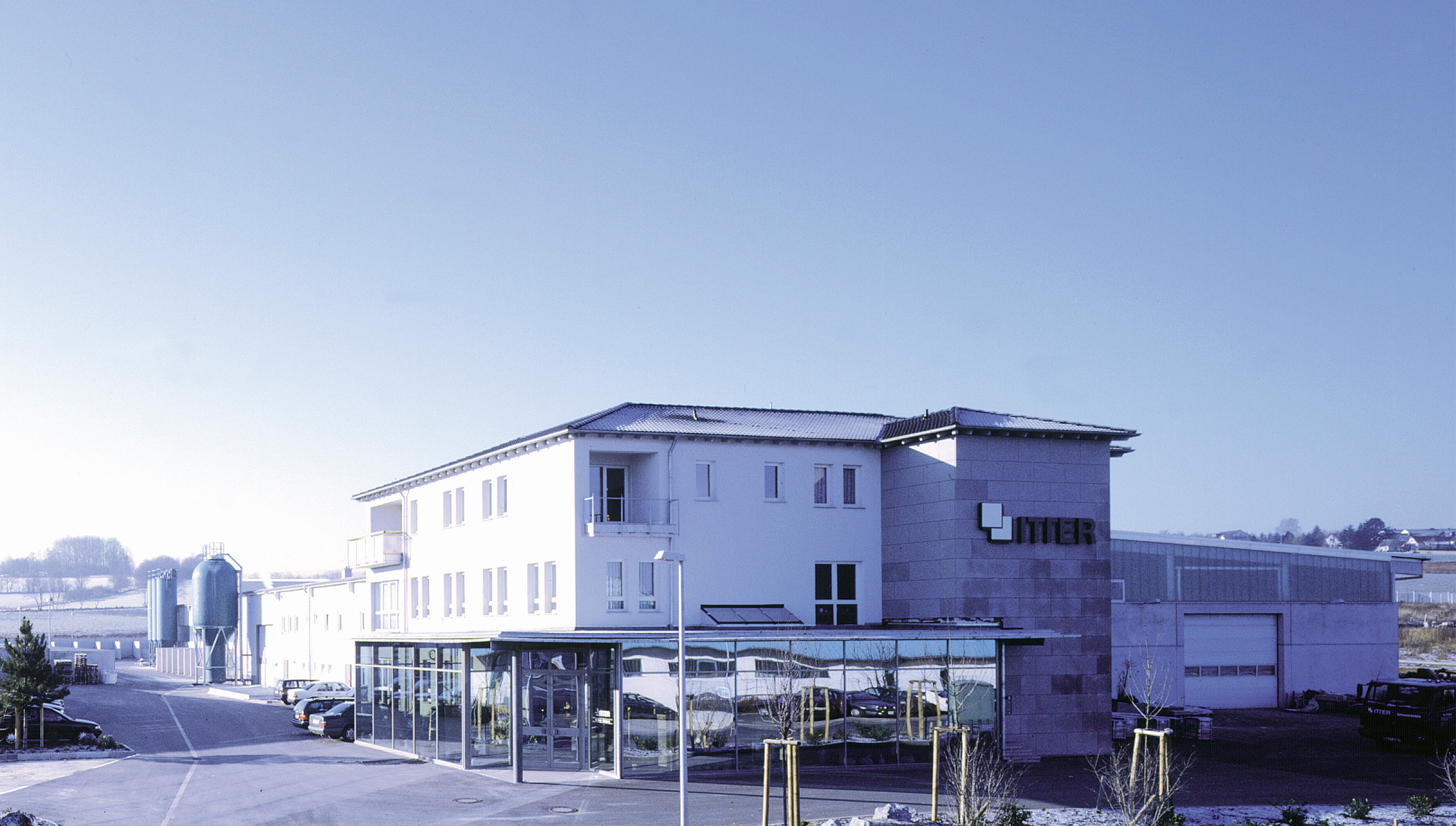 Firmengebäude Itter GmbH Marmor, Granit, Betonwerkstein