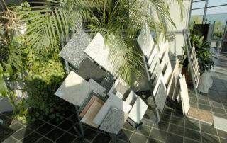 Ausstellung Steinsorten